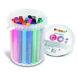 PRIMO P622BPJ36N - Juego de 36 bolígrafos de Fibra de Colores