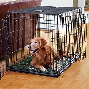 cage de transport pour chien xxl 116x77x86cm noir. Black Bedroom Furniture Sets. Home Design Ideas