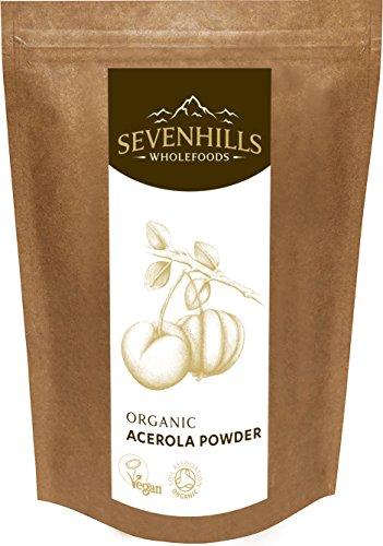 Sevenhills Wholefoods Acerola-Pulver Bio 250g