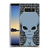 Head Case Designs Leader Tutto Sugli Alieni Cover Morbida In Gel Per Samsung Galaxy Note8/Note 8