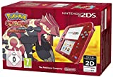 Nintendo 2DS (Transparent Rot) inkl. Pokemon Omega Rubin