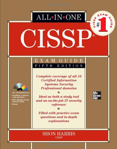 CISSP All-in-One Exam Guide, Fifth Edition por Shon Harris