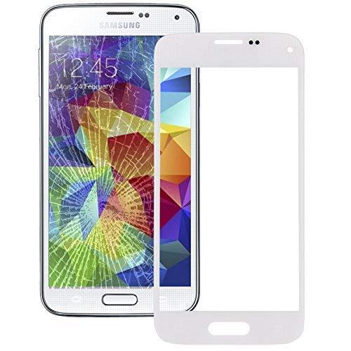 Display Glas Austausch Front Glas für SAMSUNG GALAXY S5 mini SM-G800F Ersatzglas weiß (Galaxy Weiße Für S5 Lcd Samsung)