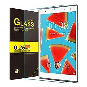 IVSO Lenovo Tab 4 8 PLUS Pellicola Protettiva, Schermo in Vetro Temperato per Lenovo Tab4 8 Plus TB-8704X Tablet (Tempered Glass - 1 Pack)