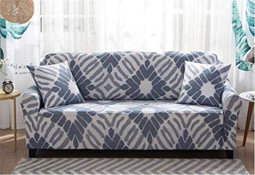 EXQUILEG Sofa Cover 1/2/3/4 Sitzer Elastischer Sofaüberwurf Couch Jacquard Sofahusse,Polyester,Verschiedene Muster (J, 2-Sitzer:140-180cm) -