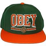 Obey green - - Gorra para hombre color verde
