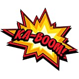 1 x Aufkleber Yes Comic Spruch Boom Bang Bazinga Sticker Tuning Decal Fun Gag