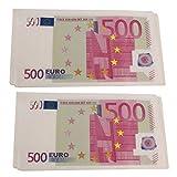 500 Euro Schein Servietten - Eurobanknoten 500 Euro tisch im 10er Set