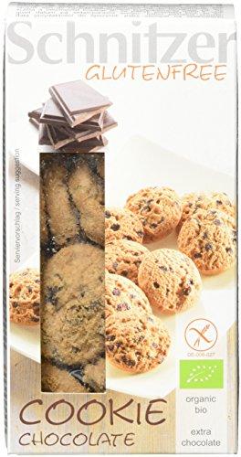 Schnitzer glutenfree Bio Cookie Chocolate, 4er Pack (4 x 150 g)