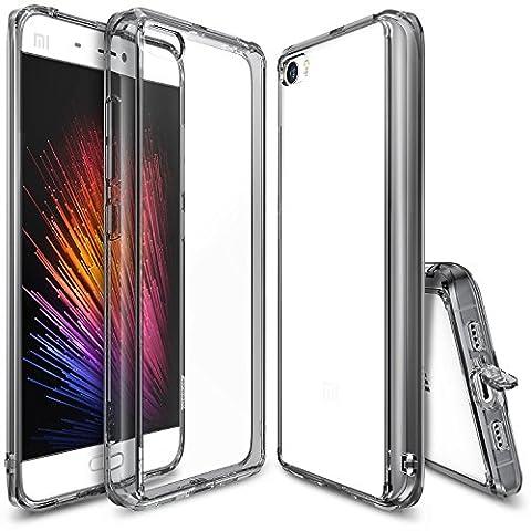Xiaomi Mi 5 Hülle, Ringke FUSION kristallklarer PC TPU Dämpfer (Fall geschützt/ Schock Absorbtions-Technologie) für das Xiaomi Mi 5 - (Satin Gold Sb)