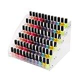 6 tier tischplatte nagellack organizer halter rack acryl make-up kosmetik lippenstift display-ständer kunststoff transparent ätherisches öl vorratsbehälter