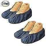 YOUTU réutilisable hommes femmes imperméable Imperméable anti-poussière mudproof Chaussures Housse Respirant étanchéité Couvre-chaussures Durable Pratique antidérapante . (2 Paires)
