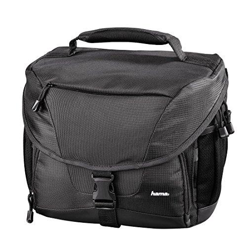 Hama Kameratasche für eine Spiegelreflexkamera und Tablet-Pc, Rexton 150, Schwarz