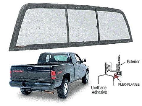 Arrière coulissant Cible de Dodge Ram 1500de 1994à 2001et standard Cabines du 2500–3500de 1994à 2002pare-brise arrière Vitrine coulissante séchés