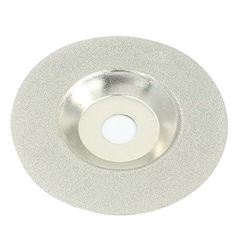 9,8 cm de diamètre avec revêtement coupe-verre diamant broyage Cut Lame de roue