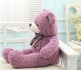 XXL Teddybär lila 120cm