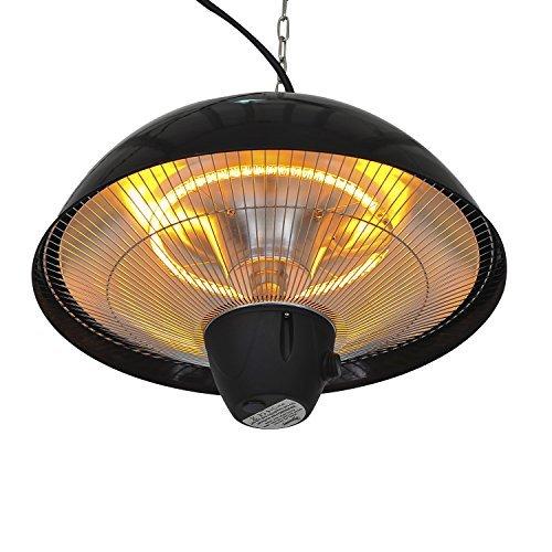 Outsunny - Lámpara halógena Techo Exteriores 1500