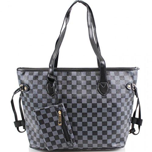 Tragetaschen nett LeahWard® Größe Damen Reise Marke Handtaschen Große Schultertaschen Käufer Schwarz 41412 Groß Bcc8Rwa