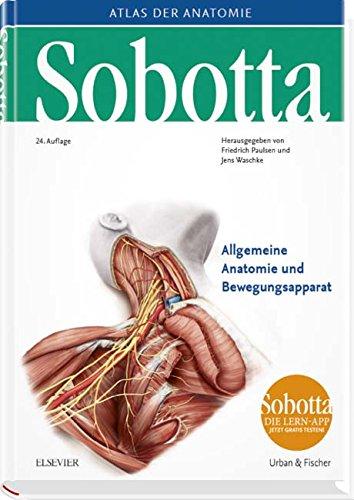 Sobotta, Atlas der Anatomie  Band 1: Allgemeine Anatomie und Bewegungsapparat (Paulsen Friedrich)