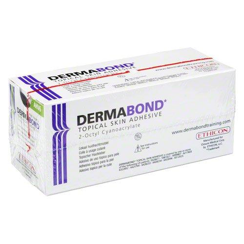 DERMABOND HVD topischer Hautkleber Ampullen 6 St