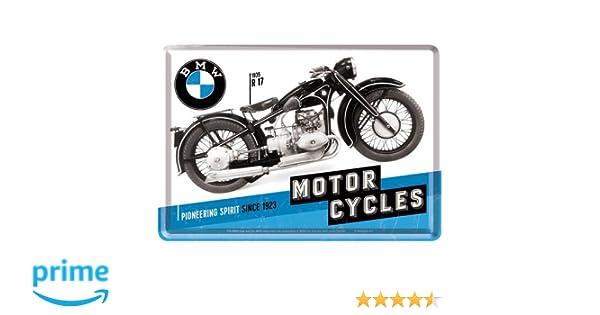 10/x 14/cm /Timeline T/ôle Carte Postale BMW/ Nostalgic-Art 10284