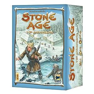 Devir- Stone Age, edición 10º Aniversario en Castellano, Multicolor (BGXSTONE)