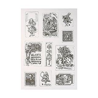 Amazingdeal365 Mit Vielfalt-teilig ! Silikonstempel Set - Blumen Kunst- Clear Stamps - Stempel transparent (1)