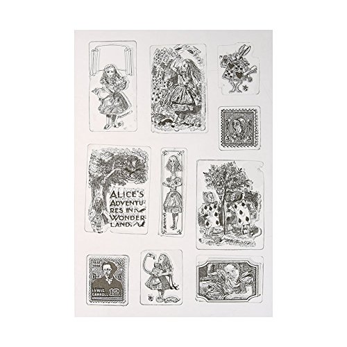 Amazingdeal365 Mit Vielfalt-teilig ! Silikonstempel Set - Blumen Kunst- Clear Stamps - Stempel transparent (1) -