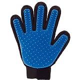 DOXMAL Pflege-Handschuh Hundepflege-Handschuh Putzhandschuhe Hundesalon-Handschuh Hundesalon-Handschuhe Pferdepflege-Handschuhe Kleiner Hundepflege-Handschuh Katzenpflege-Handschuh Rechte Hand Blau