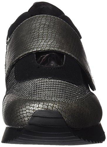 bass3d 041374, Sneaker Basse Donna Argentato (piombo)