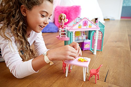 Image of Barbie DWJ50 BarbieClub Chelsea Playhouse