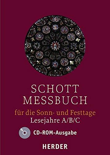 SCHOTT Messbuch Sonn- und Festtage: Lesejahre A, B, C