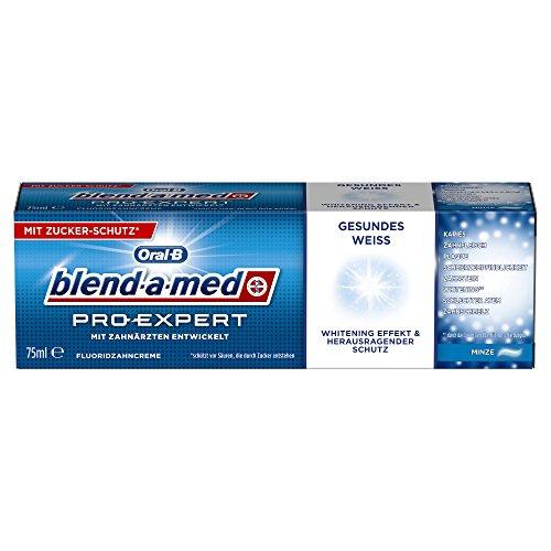 Oral-B blend-a-med ProExpert Gesundes Weiss, 12er Pack (12 x 75 ml)