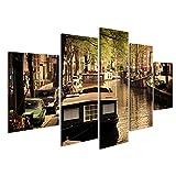 islandburner, Bild auf Leinwand Amsterdam, Holland,