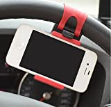 Cell Phones Accessories Best Deals - JessicaAlba Universal Cell Phone Car Mount Holder on Steering Wheel Better View & Buckle Clip Hands Free For Jeep Commander Compass Grand Cherokee Liberty Patriot Wrangler by JessicaAlba