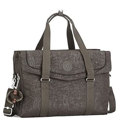 kipling super bag de travail portable sac main de serpent de brown chaussures et sacs. Black Bedroom Furniture Sets. Home Design Ideas
