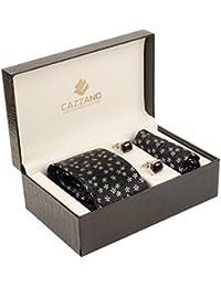 Cazzano Checkered Men's Tie Set (TCPNC224)