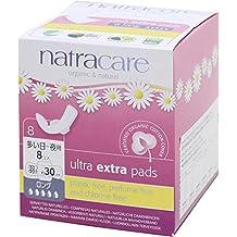 Natracare 540500 - Toallas Ultra con alas largas extra