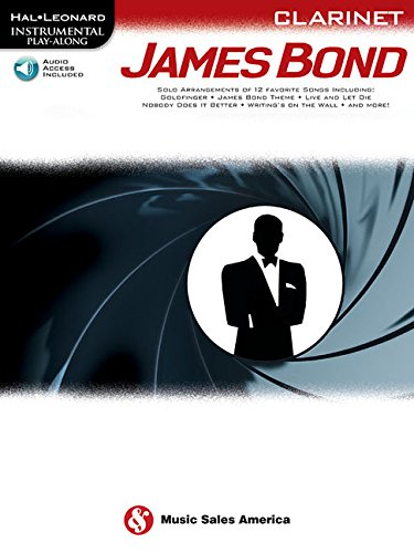 Hal Leonard Instrumental Play-Along: James Bond - Clarinet (Book/Online Audio)