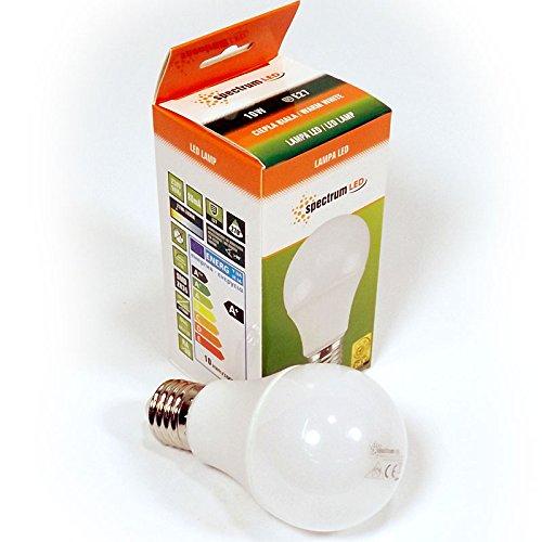 Set da 10Watt LED Lampada E27warmwess A60Lampadina a bulbo all'