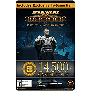 Star Wars: The Old Republic – 14,500 Cartel Coins + exklusives Item [PC Online Code]