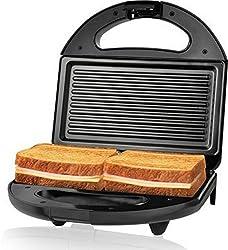 Nova NSG 2440 750-Watt 2-Slice Sandwich Maker (Black)