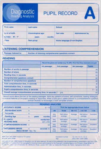 diagnostic-reading-analysis-pupil-record-sheet-a-pk10-2ed-diagnostic-reading-analysis-series