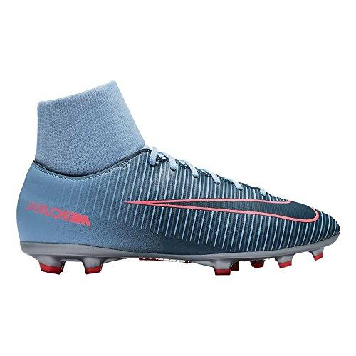 Nike Jr Mercurial Victory VI DF FG–Scarpe da Calcio, Unisex Bambini, Blu–(Lt Armory Blue/Armory Navy-Armory Blue)
