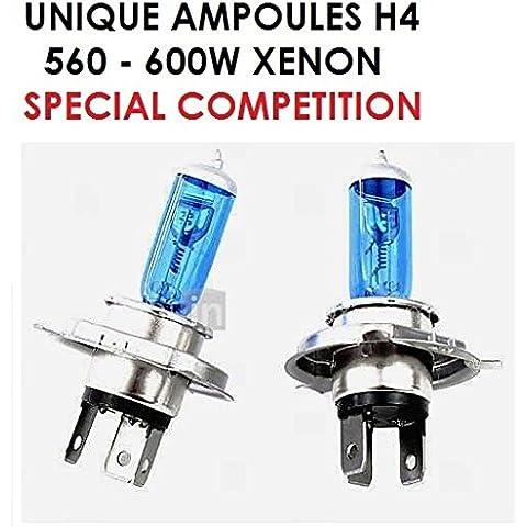 560W Special Competition. La potencia del Xenon par Simple cambio de bombilla. Kit xenon H4560/600W.Raid Preparation 4x 4