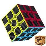 Rubik's Cube 3x3 Splaks Vitesse Cube de Magique Spin Lisse Super Durable avec des Couleurs Vives pour un Jeu de Formation sur le Cerveau ou un Cadeau de Vacances