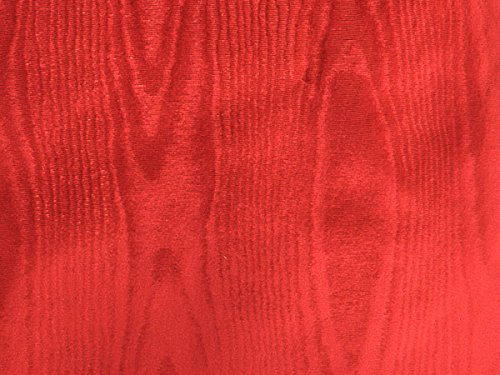 Red Moire Gift Wrap 18