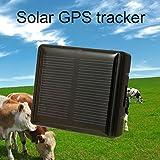 Solar GPS Tracker Schlüsselfinder Locator Class 12TCP/IP-850/900/1800/1900MHz Pet Solar Power Pferd Schaf Kuh Hund Tracker rf-v26car-styling Animal schwarz