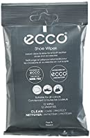 Ecco Unisex Wipes Shoe Treatments and Polishes, Transparent, One Size