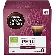 NESCAFÉ Dolce Gusto Peru Cajamarca Espresso Coffee Pods, 12 Capsules (12 Servings)